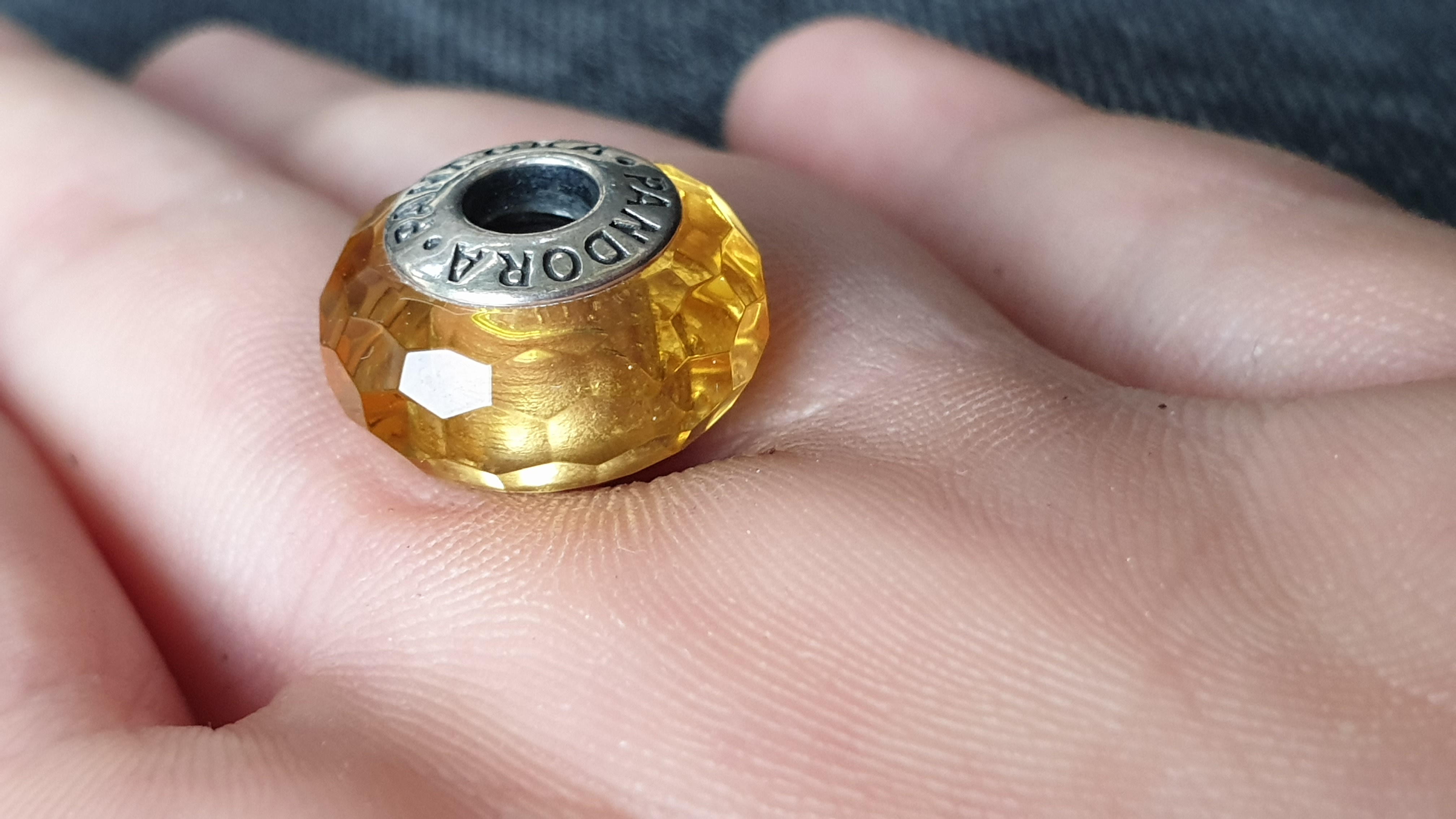 Murano Golden Faceted
